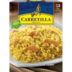 Arroz con pollo al curry carretilla