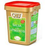 Salsa deshidratada a las 3 Pimientas SALSAS CHEF de Nestlé