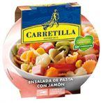 Ensalada de pasta con jamon carretilla