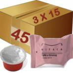 Caja de 3 Estuches de 15 Cápsulas Mps illy de Café con Ginseng (Caja=45capsulas)