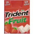Chicle Trident Fresa
